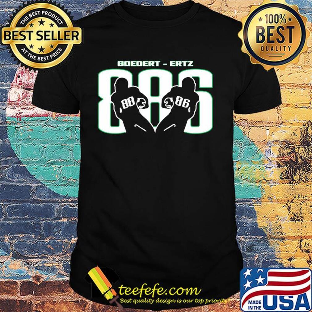Dallas goedert 88 and zach ertz 86 Philadelphia Eagles football shirt