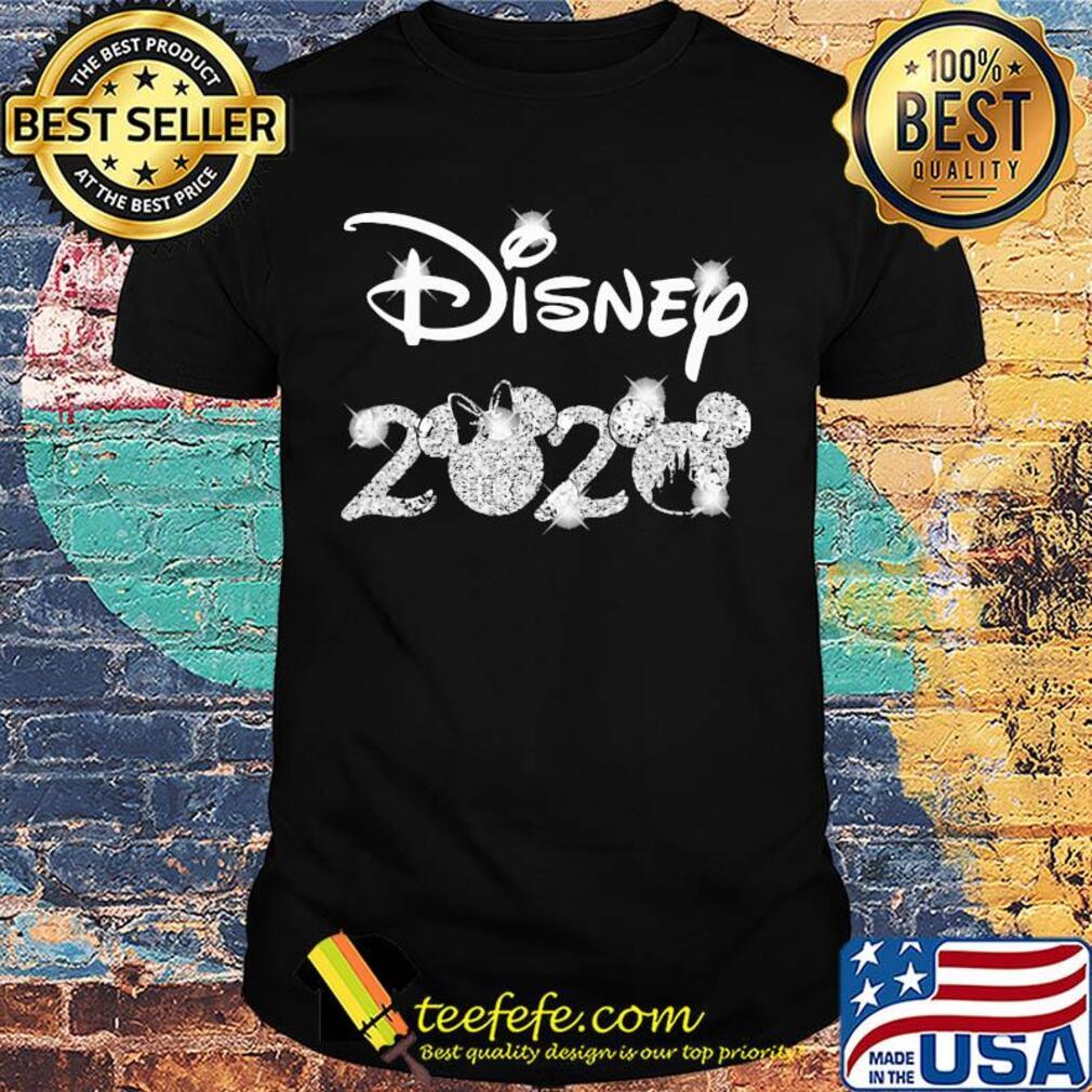Disney 2020 minnie mouse diamond shirt
