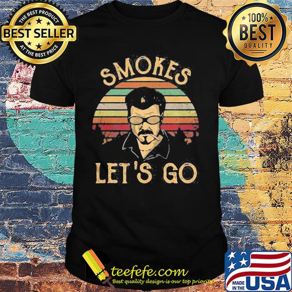 Ricky lafleur robb wells smokes let's go vintage shirt