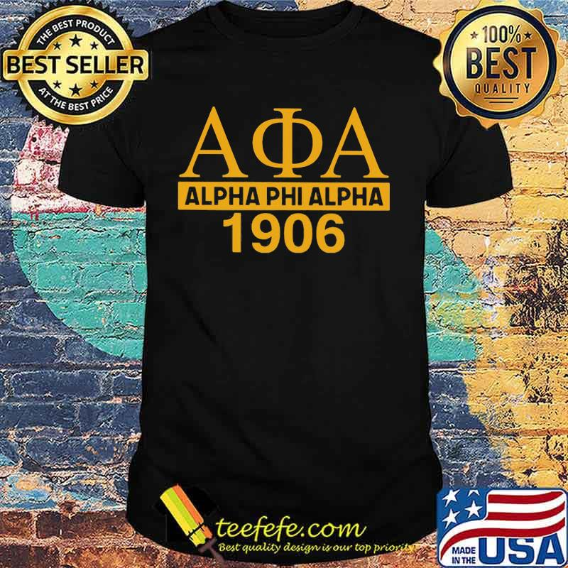 Alpha phi alpha 1906 vintage shirt