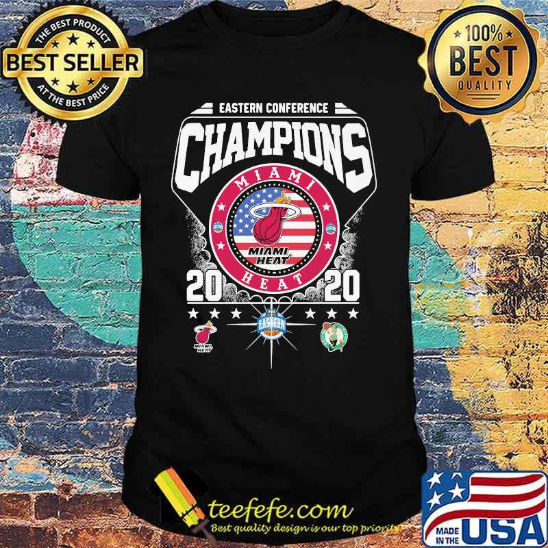Eastern conference champions miami heat 2020 shirt