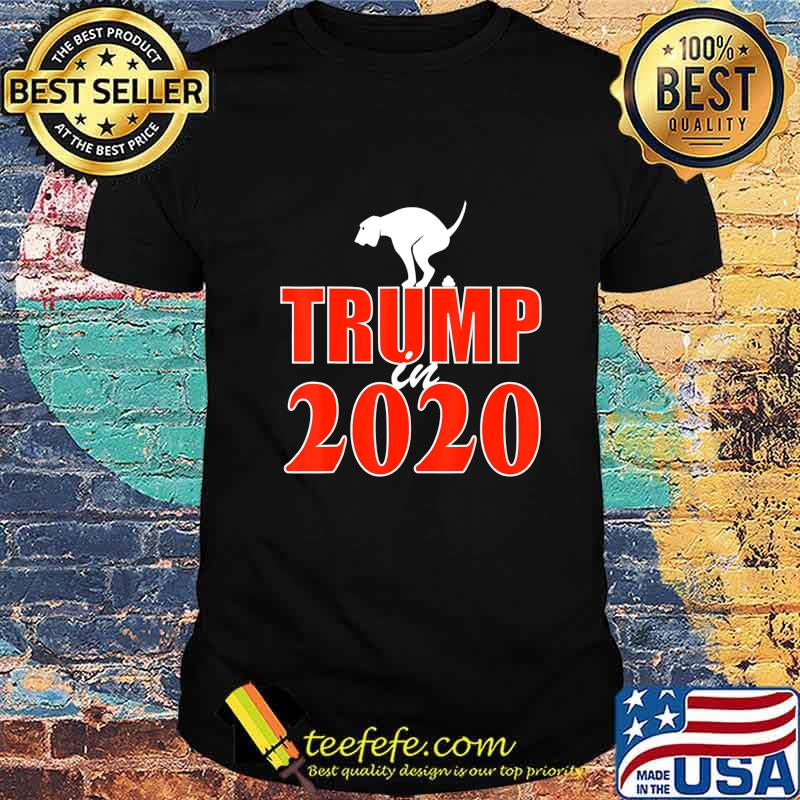 Funny Anti-Trump Dog Poop T-Shirt-Wear To The Voting Booth T-Shirt
