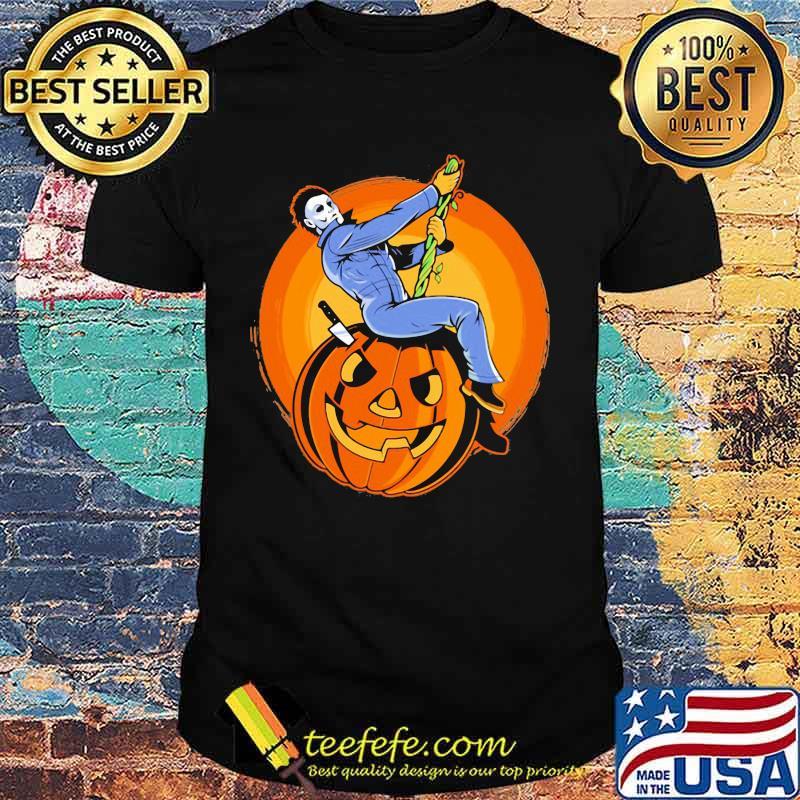 Halloween michael myers pumpkins shirt