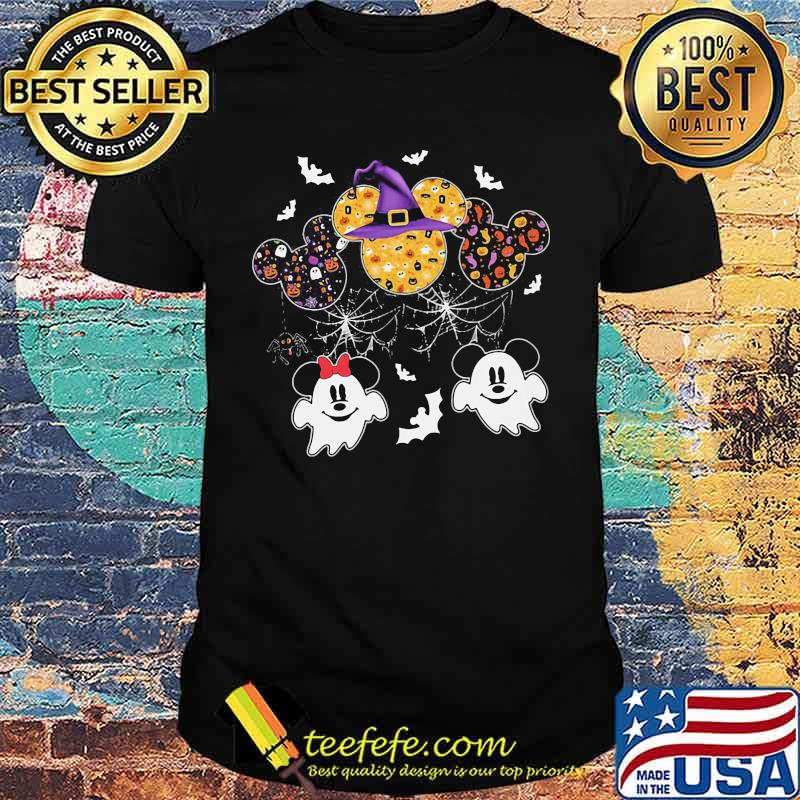 Happy halloween mickey mouse ghost shirt