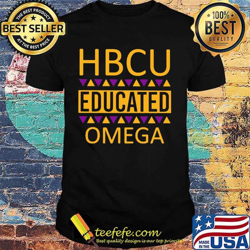 Hbcu educated omega psi phi vintage shirt