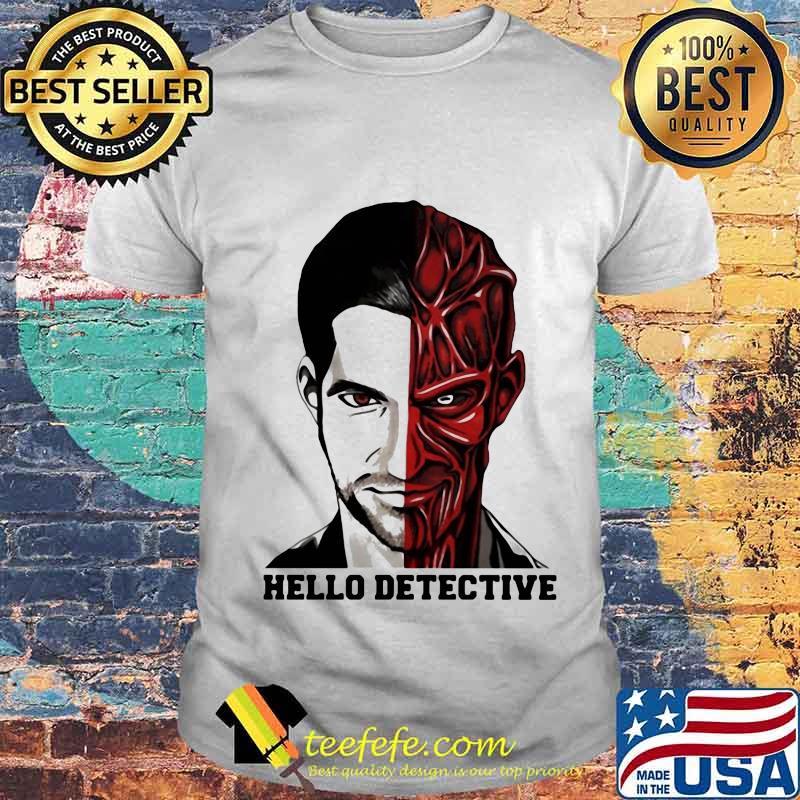 Lucifer desenho hello detective shirt