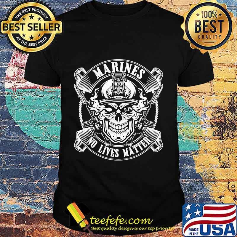 Marines No Lives Matter 0.1% Shirt