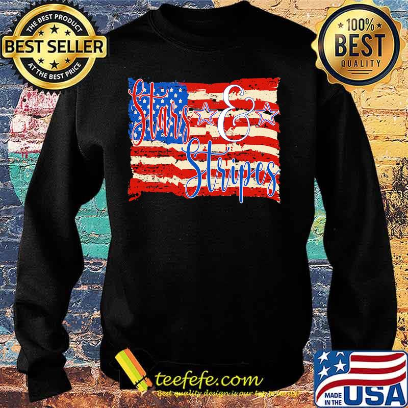 Stars And Stripes American Flag Independence Day Shirt ...
