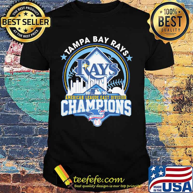 Tampa bay rays american league east division champions 2020 shirt