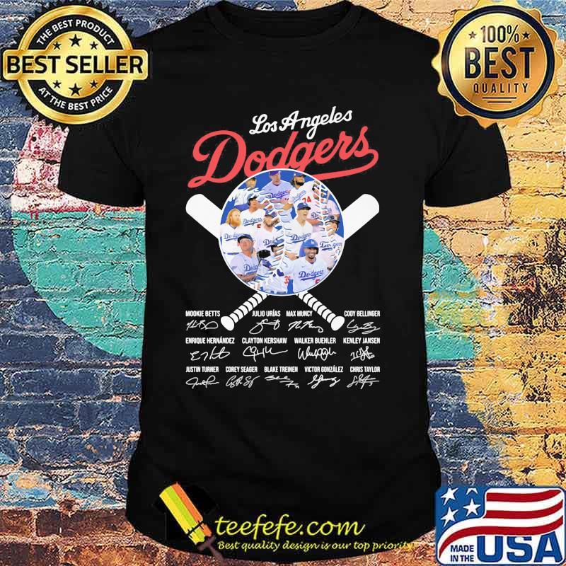 Los Angeles Dodgers Mookie Betts Max Muncy signature shirt