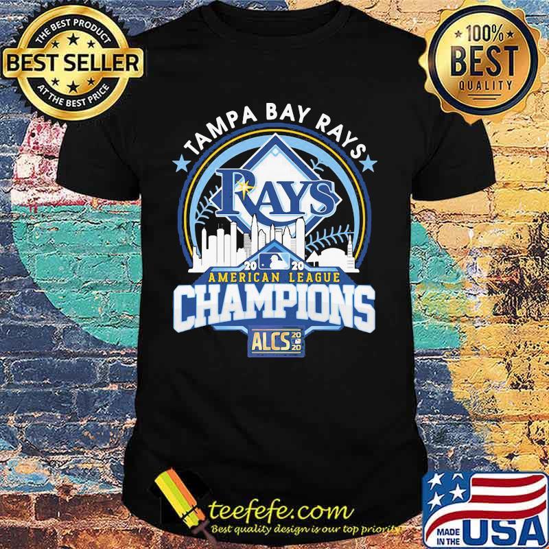 Tampa bay rays american league champions 2020 shirt