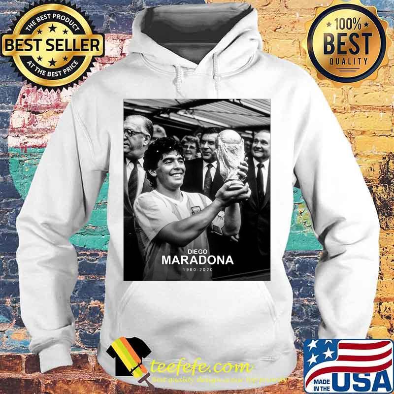Diego Maradona 1960 2020 Legend Argentina World Cup N10 Shirt Hoodie