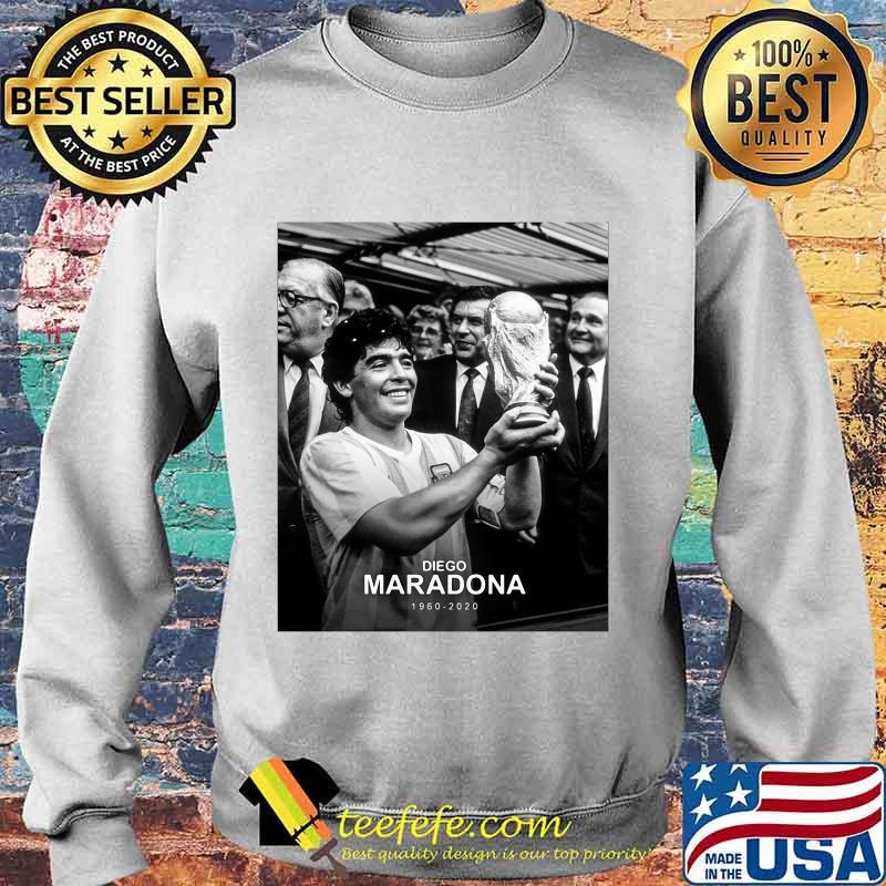 Diego Maradona 1960 2020 Legend Argentina World Cup N10 Shirt Sweater