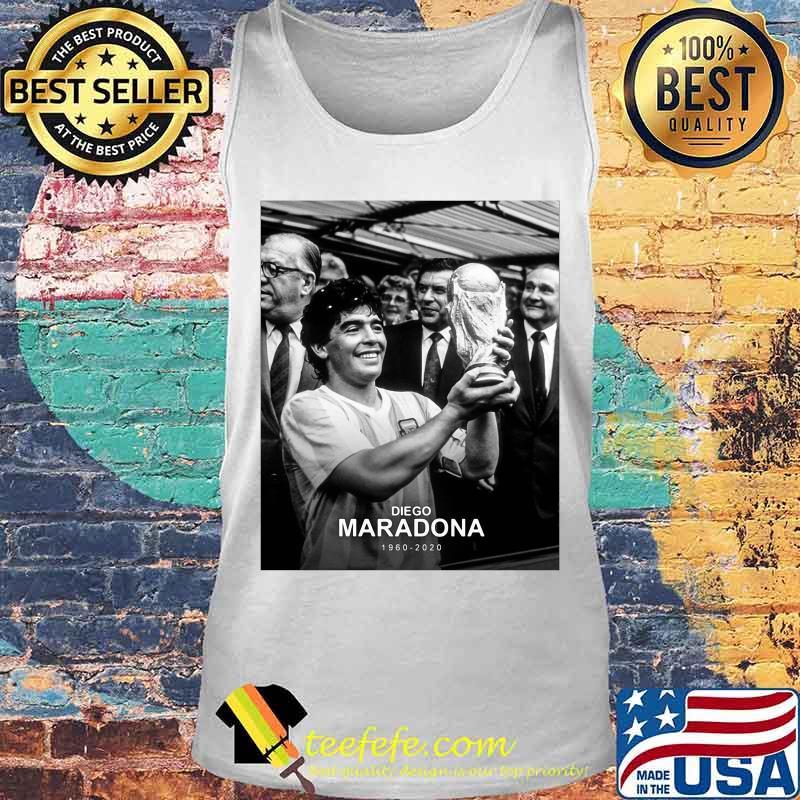 Diego Maradona 1960 2020 Legend Argentina World Cup N10 Shirt Tank top