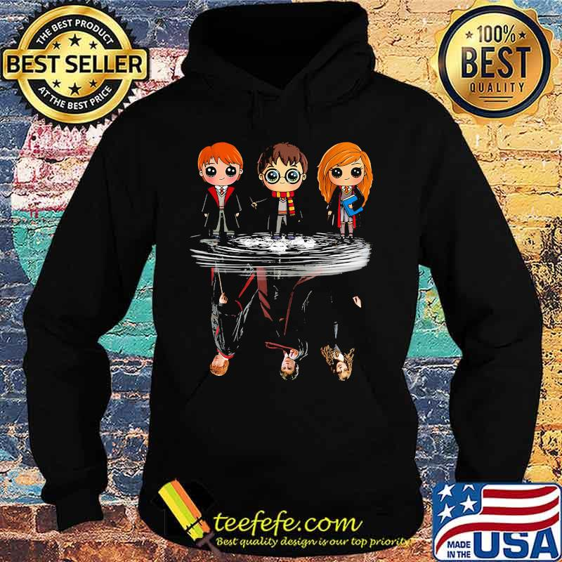 Harry potter characters chibi water reflection s Hoodie