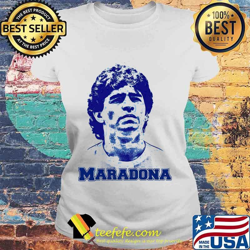 Maradona Football Legend Argentina Tee World Cup N10 Shirt Laides tee