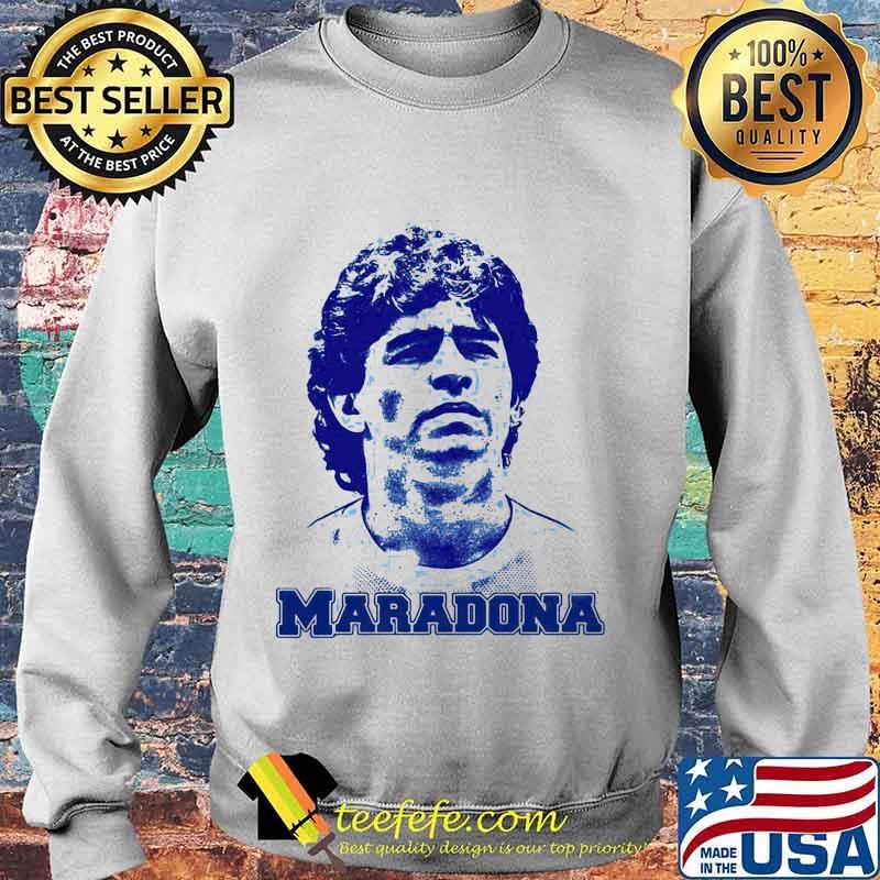 Maradona Football Legend Argentina Tee World Cup N10 Shirt Sweater