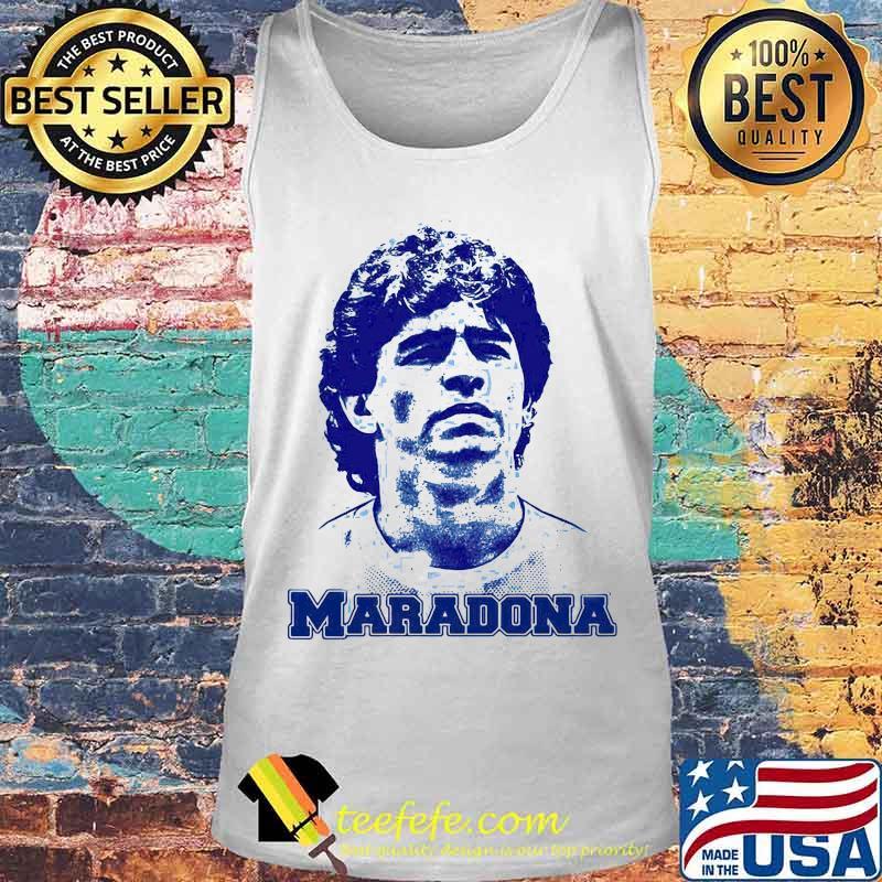 Maradona Football Legend Argentina Tee World Cup N10 Shirt Tank top