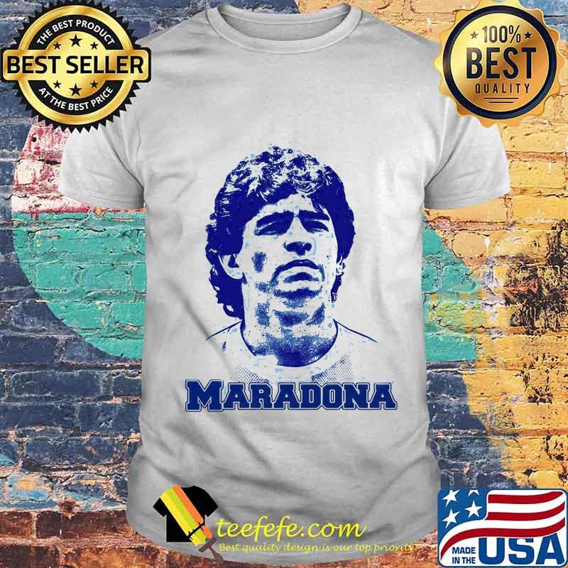 Maradona Football Legend Argentina Tee World Cup N10 Shirt