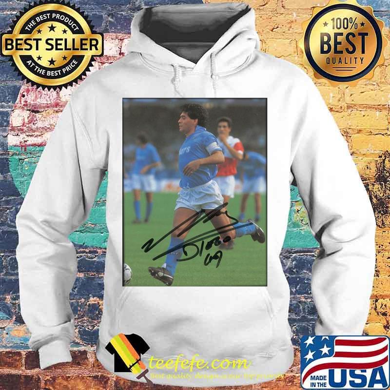 Maradona Legend Argentine Signature Shirt Hoodie
