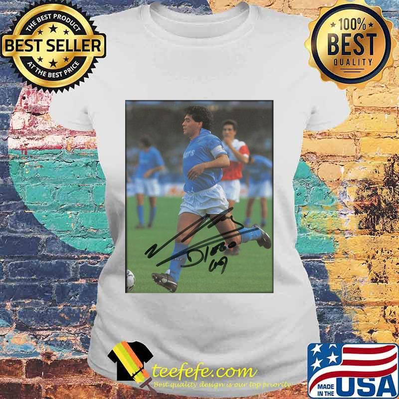 Maradona Legend Argentine Signature Shirt Laides tee