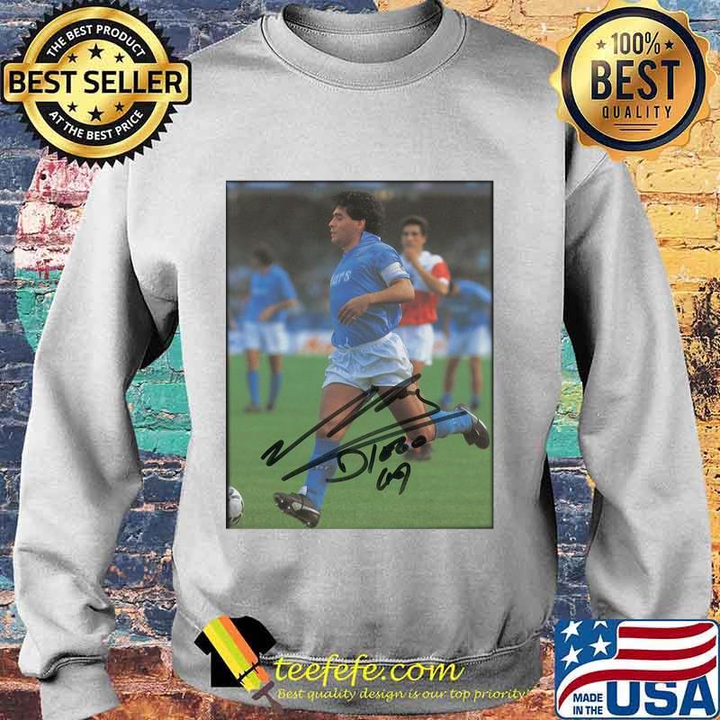 Maradona Legend Argentine Signature Shirt Sweater