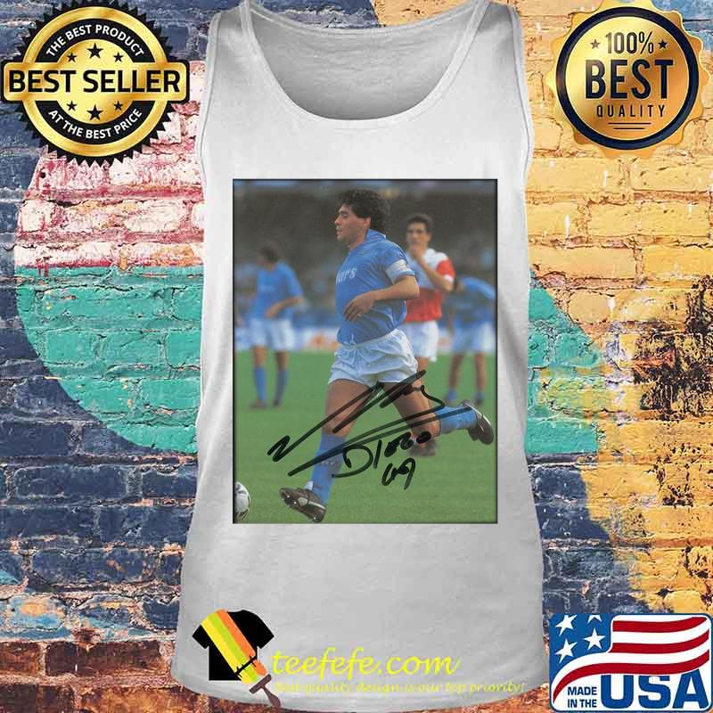 Maradona Legend Argentine Signature Shirt Tank top