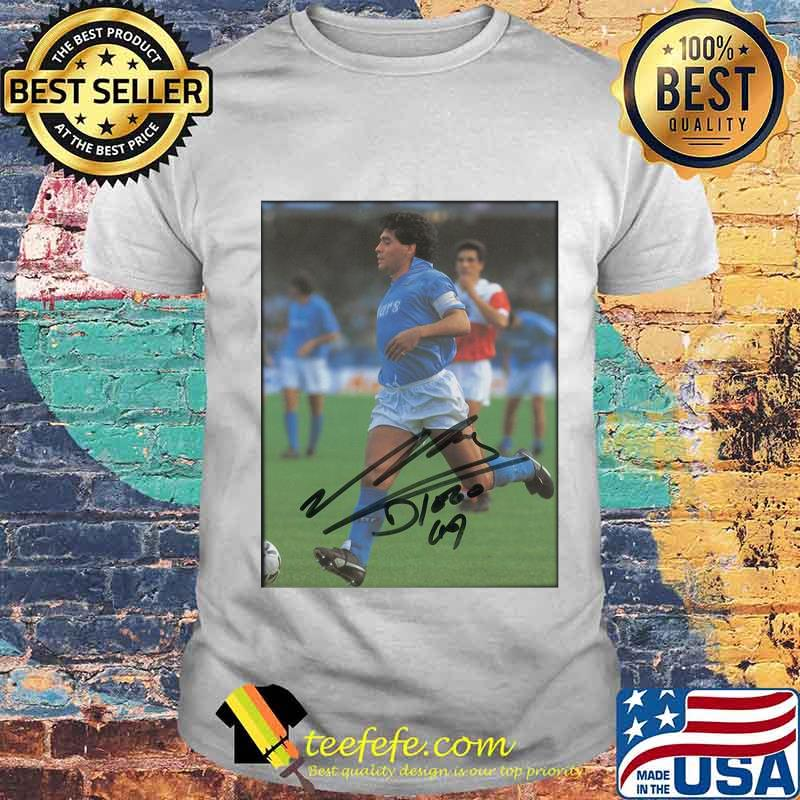 Maradona Legend Argentine Signature Shirt