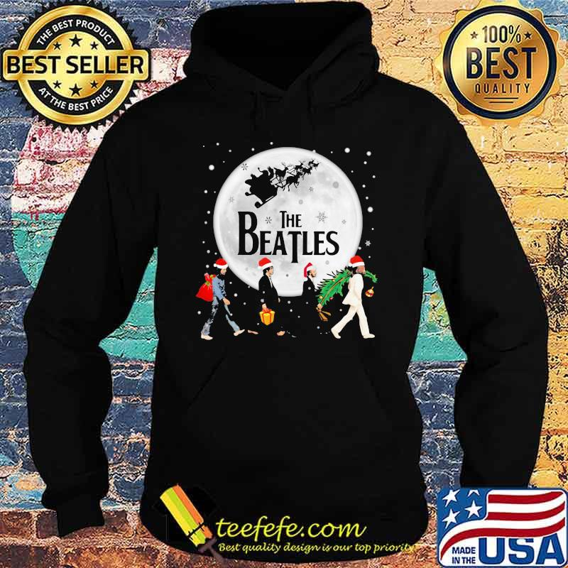 Merry christmas the peanuts abbey road s Hoodie