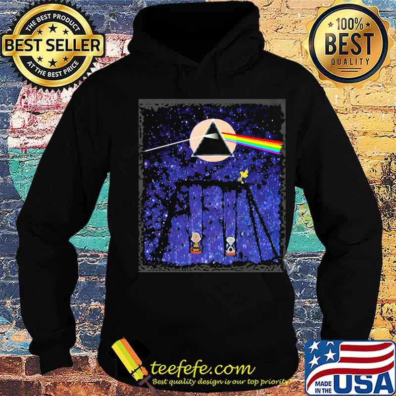 Official Pink Floyd Night Moon Lgbt Snoopy Shirt Hoodie