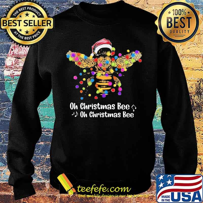 Official Santa Bee Oh Christmas Bee oh Christmas Bee Shirt Sweater