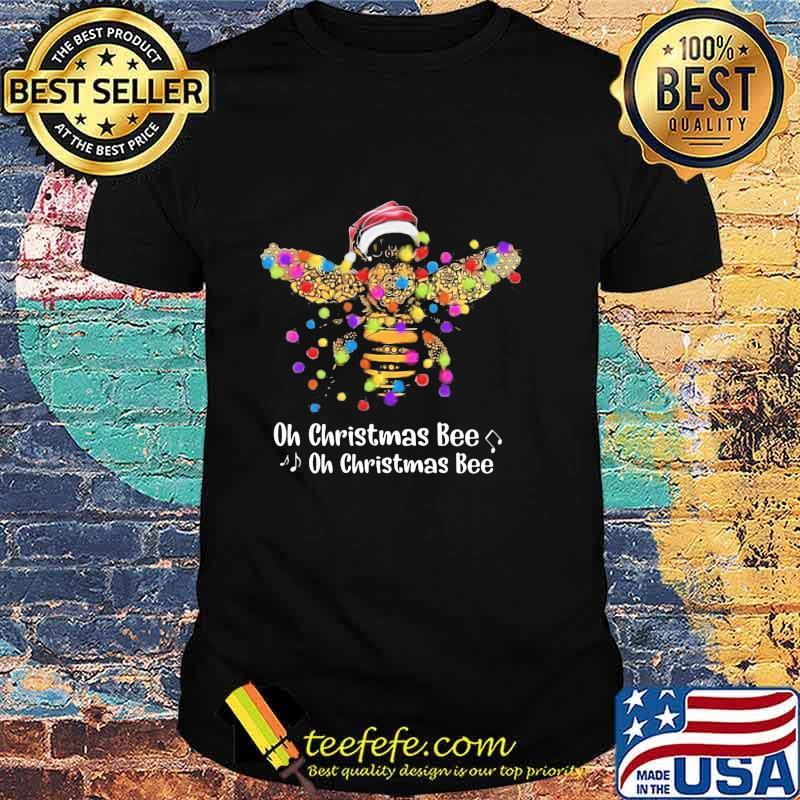 Official Santa Bee Oh Christmas Bee oh Christmas Bee Shirt