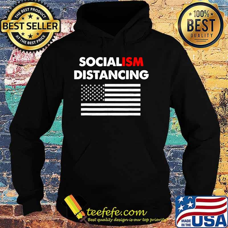 Official Socialism Distancing American Flag Shirt Hoodie