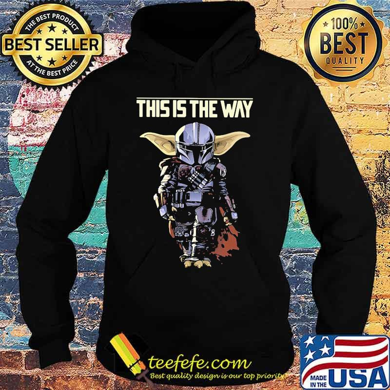 Official This Is The Way Yoda Shirt Hoodie