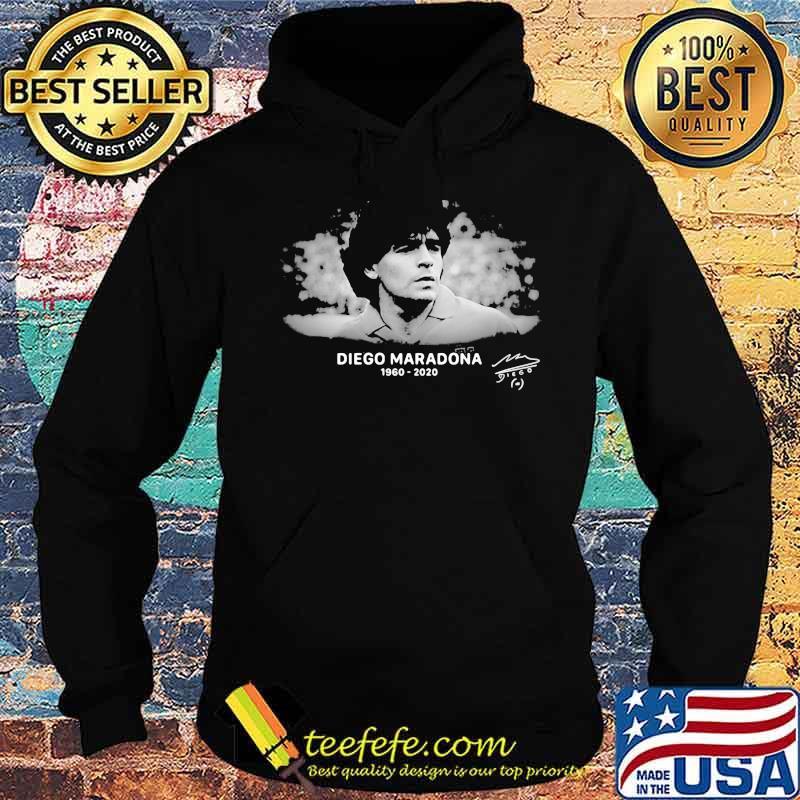 R.I.P 10 Diego Maradona 1960-2020 Argentina Soccer Legend Shirt Hoodie
