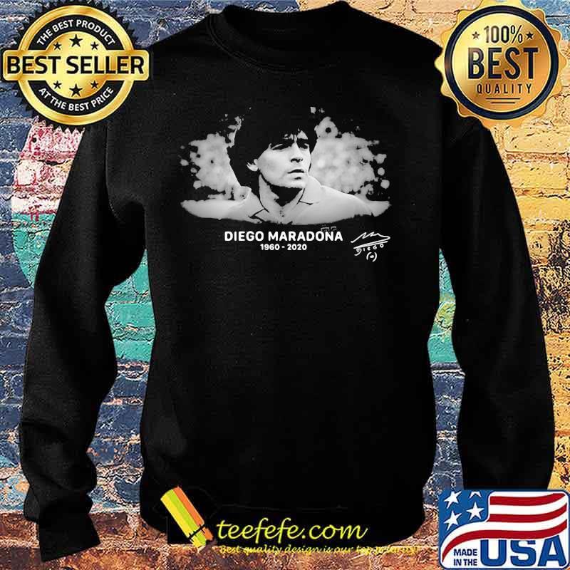 R.I.P 10 Diego Maradona 1960-2020 Argentina Soccer Legend Shirt Sweater
