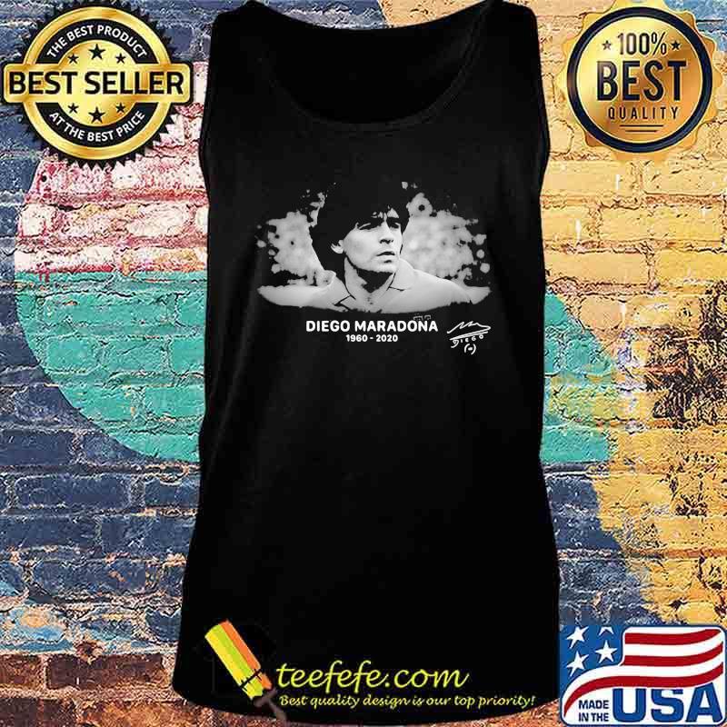 R.I.P 10 Diego Maradona 1960-2020 Argentina Soccer Legend Shirt Tank top