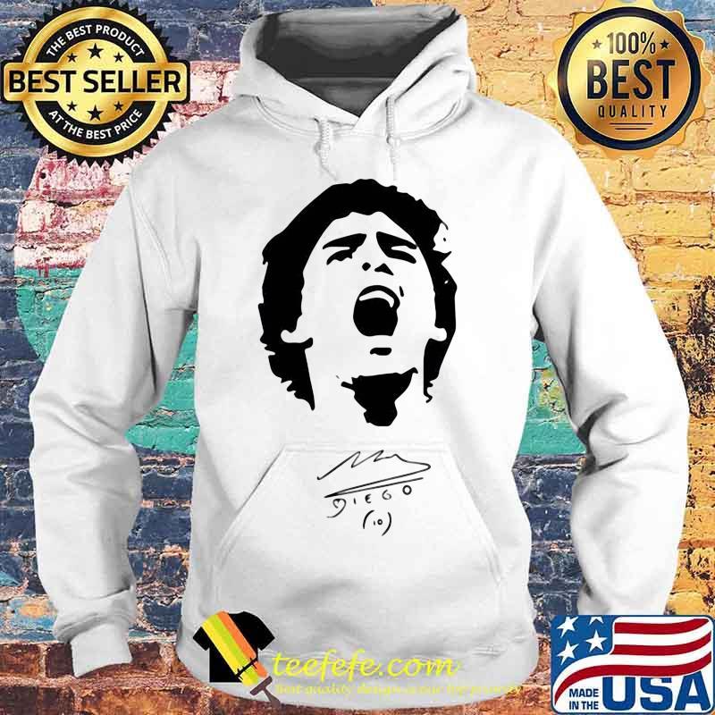 R.I.P 10 Diego Maradona Legend Argentine Signature Shirt Hoodie