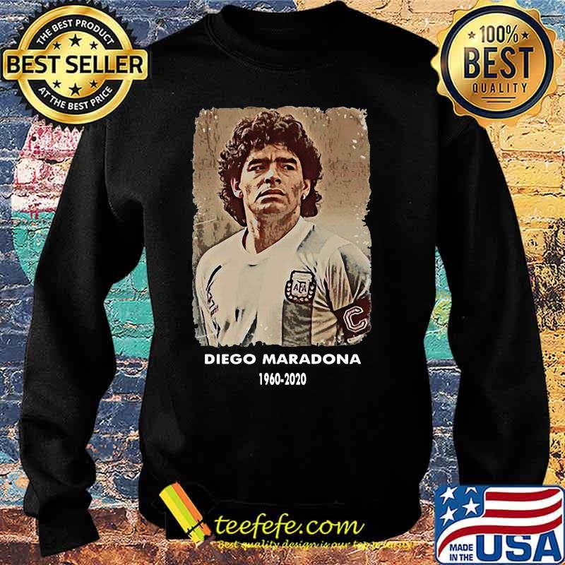 Rip Diego Maradona 1960 2020 Football Shirt Sweater