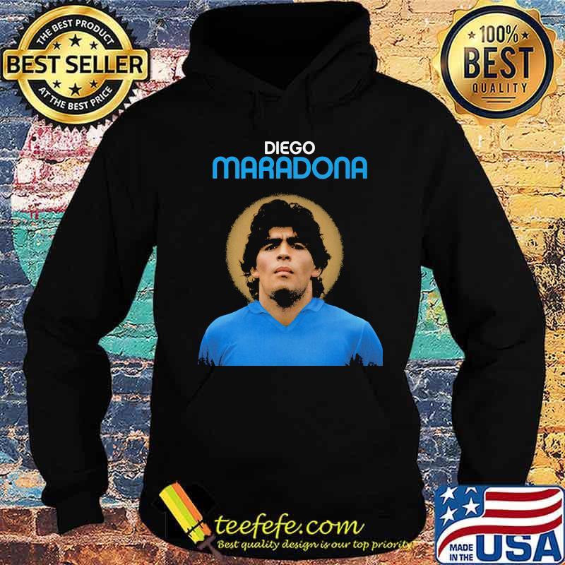 Rip Diego Maradona Argentina Legend Boca Juniors Shirt Hoodie