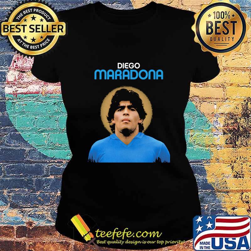 Rip Diego Maradona Argentina Legend Boca Juniors Shirt Ladies tee
