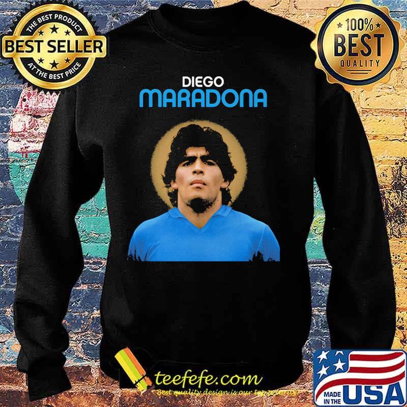 Rip Diego Maradona Argentina Legend Boca Juniors Shirt Sweater