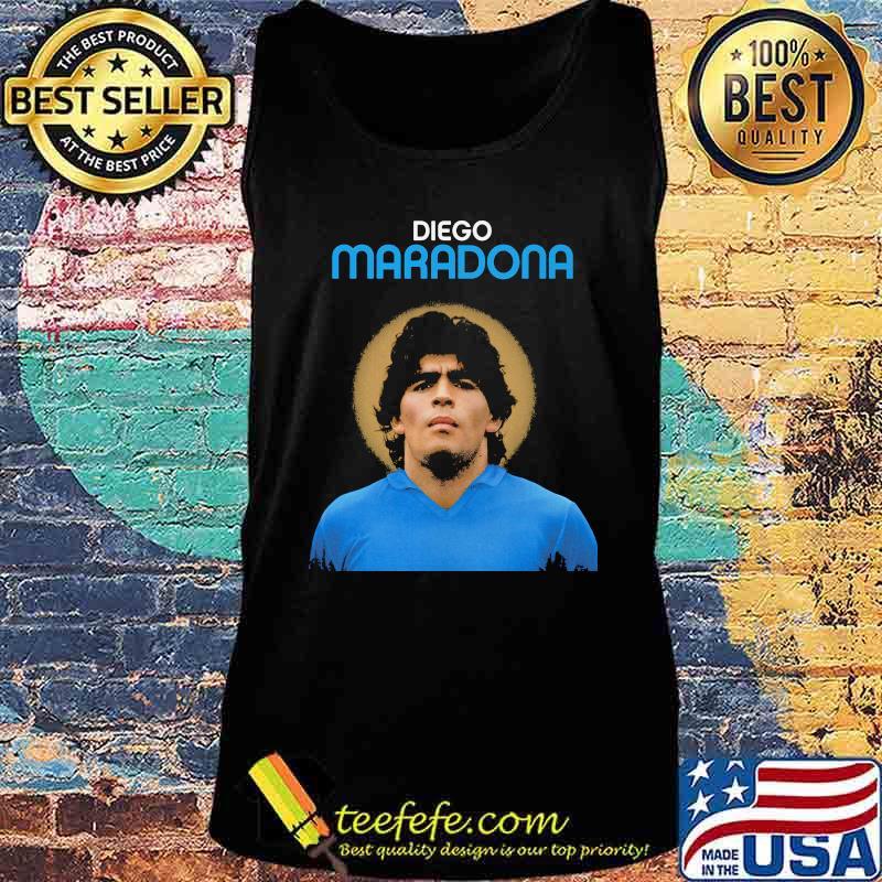 Rip Diego Maradona Argentina Legend Boca Juniors Shirt Tank top