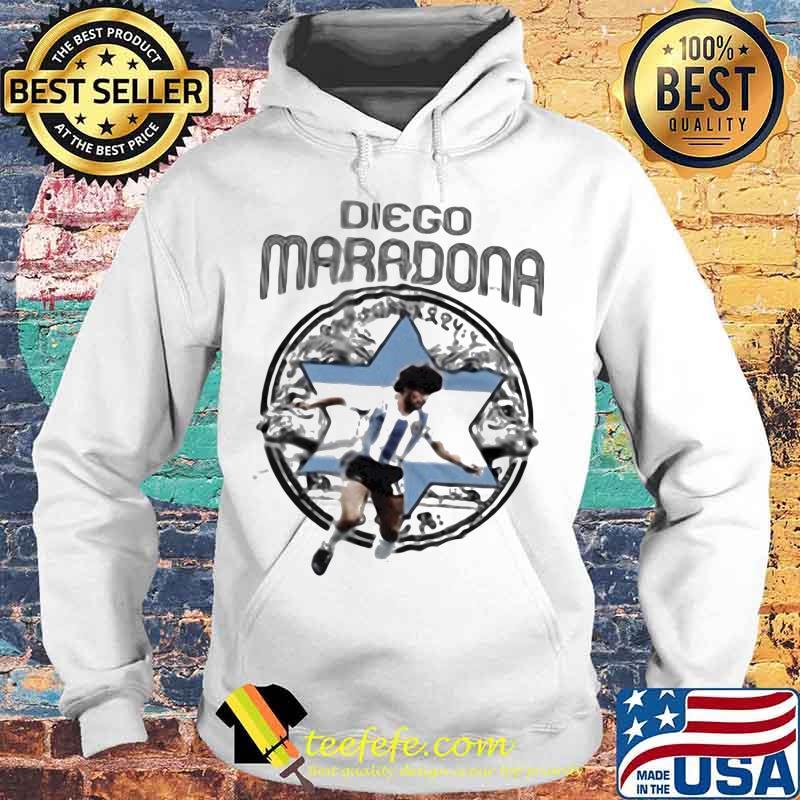 Rip Diego Maradona Argentina Soccer Legend Genius Football Shirt Hoodie