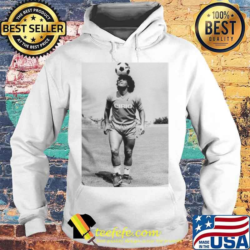 Rip Diego Maradona Football Shirt Hoodie