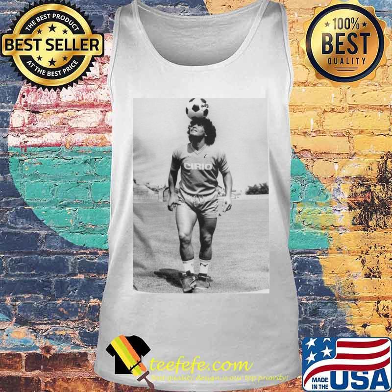 Rip Diego Maradona Football Shirt Tank top