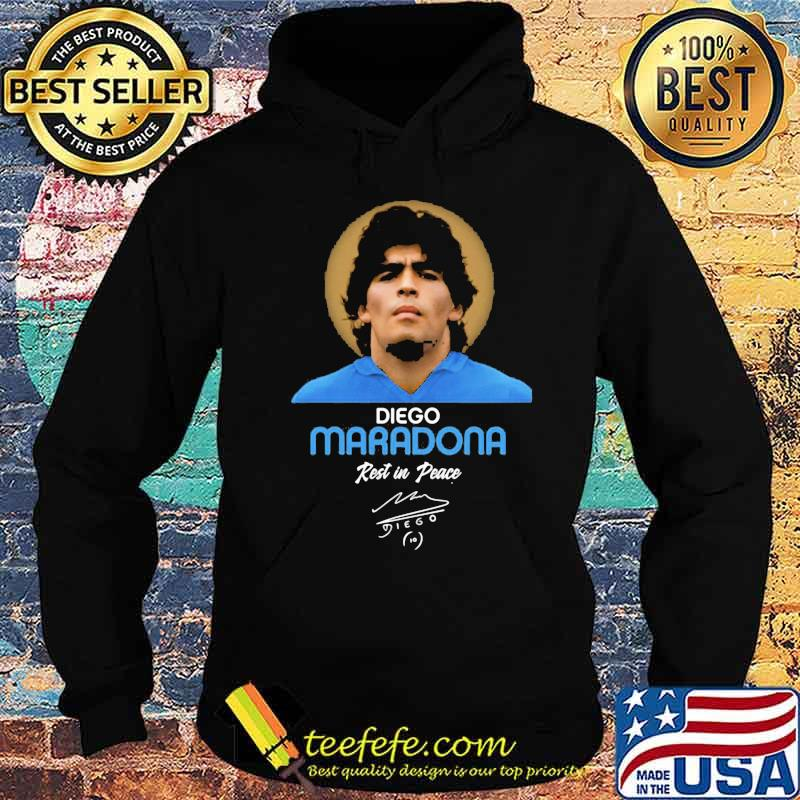 Rip Diego Maradona Rest In Peace Signature Shirt Hoodie