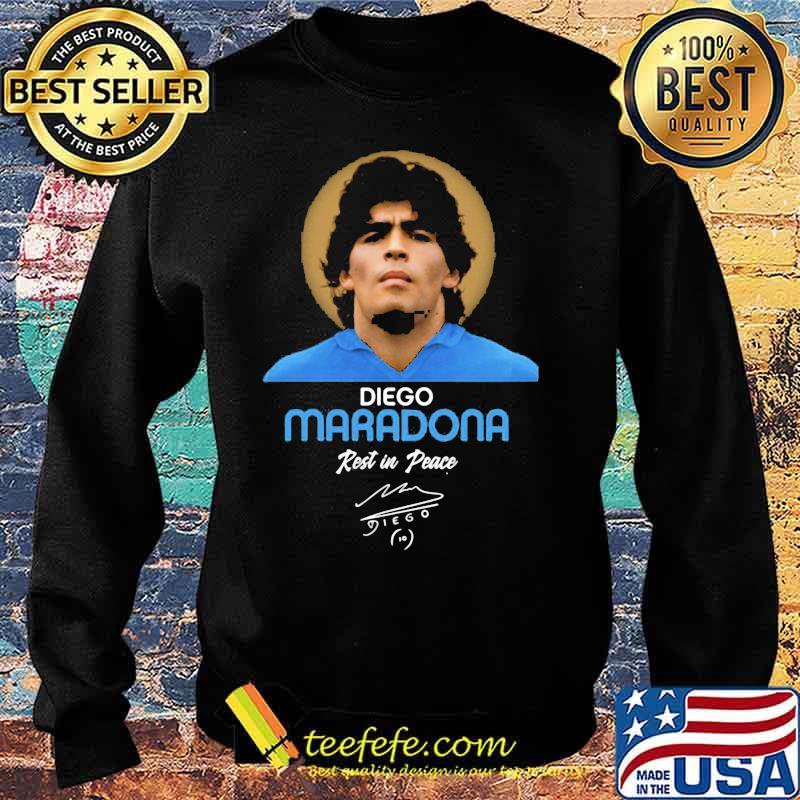 Rip Diego Maradona Rest In Peace Signature Shirt Sweater