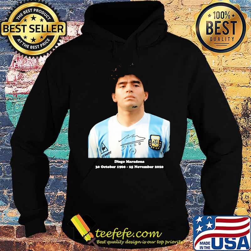 Rip Diego Maradona Rip 30 October 1960 25 November 2020 Shirt Hoodie