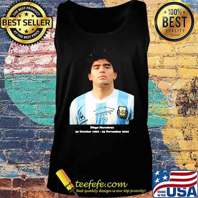 Rip Diego Maradona Rip 30 October 1960 25 November 2020 Shirt Tank top